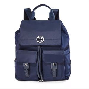 08af63c6ef29 Brand new Tory Burch Nylon Backpack in navy ...